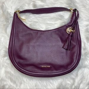 Michael Kors Peppbled Leather Large Hobo Purse